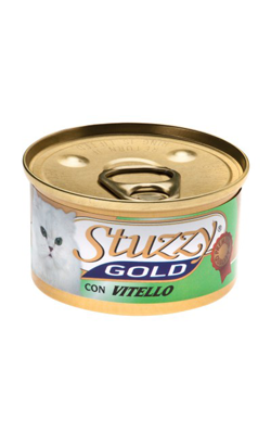 Stuzzy Gold Cat Mousse | Veal 6 X 85 g