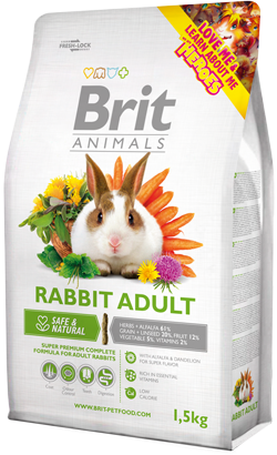 Brit Animals Rabbit Adult 300 g