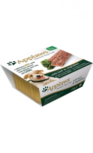 Applaws Dog Pate with Beef & Vegetables | Wet (Terrina) 3 X 150 g