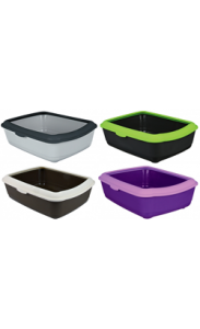 Trixie WC Classic Litter Tray with Rim Castanho & Creme