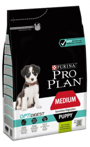 Pro Plan Dog Medium Puppy Sensitive Digestion Lamb 3 kg