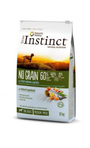 True Instinct No Grain Medium/Maxi Junior Salmon & Potato 12 kg
